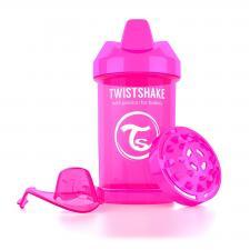Розовый поильник twistshake crawler cup 300 мл.