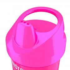 Розовый поильник twistshake возраст 8м+