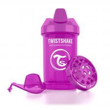 Фиолетовый поильник twistshake crawler cup 300 мл.