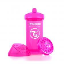 Розовый поильник twistshake kid cup 360 мл.