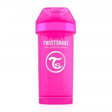Розовый twistshake kid cup 360 мл.