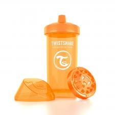 Оранжевый поильник twistshake kid cup 360 мл.
