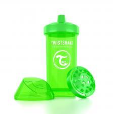 Зелёный поильник twistshake kid cup 360 мл.