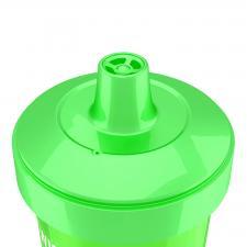 Зелёный поильник Twistshake возраст 12м+
