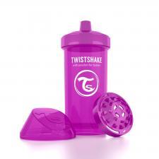 Фиолетовый поильник twistshake kid cup 360 мл.