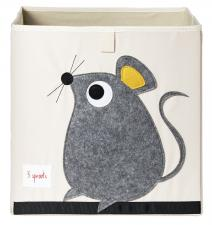 Коробка для игрушек 3sprouts мышка 00041