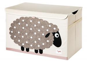 3sprouts сундук для игрушек овечка 00038
