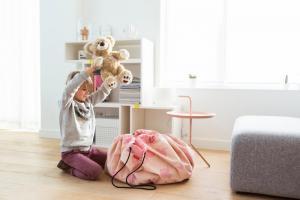 Коврик playandgo розовый слон от allc