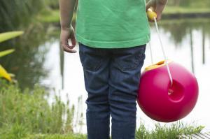 Мальчик и ballo нежно-розовое