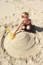 Круг на песке quut triplet