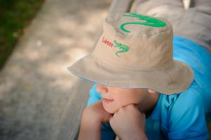 Панама детская аллигатор