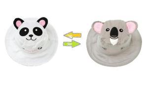 Панама для детей панда-коала