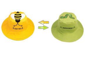 Детская панама пчела-червяк