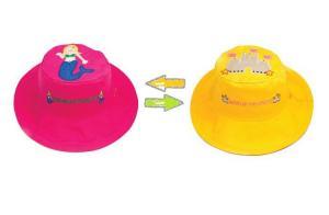 Детская панама замок-русалка