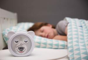 часы-будильник медвежонок бобби