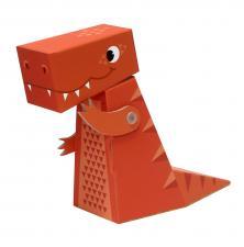картонный тираннозавр krooom