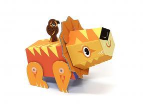 картонный лев krooom