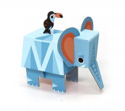 картонный слон krooom