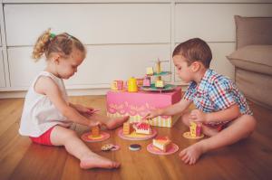 детский набор чайная вечеринка