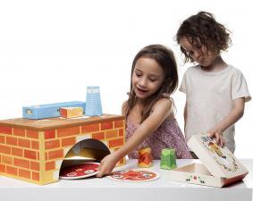детский набор вечеринка с пиццей