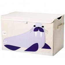 сундук для хранения игрушек 3 sprouts морж
