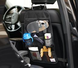 Органайзер на спинку в автомобиле с игрушками