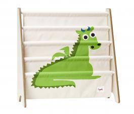 Стойка для книг 3 sprouts зелёный дракон
