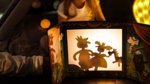 Кукольная игра театр теней