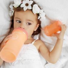 Персиковая антиколиковая бутылочка 330 мл.