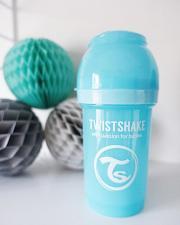 Пастельно-синяя антиколиковая бутылочка 180 мл.
